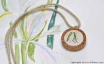 Snowdrop embroidery